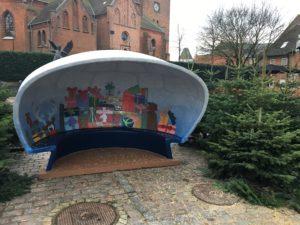 Julemandes hule, udsmykning