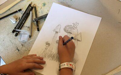 Privat tegne-undervisning