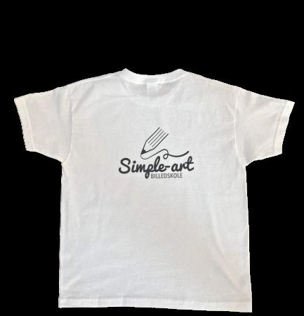 T-shirt bagside