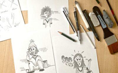 Illustrationsopgave for Cool Kids Roskilde